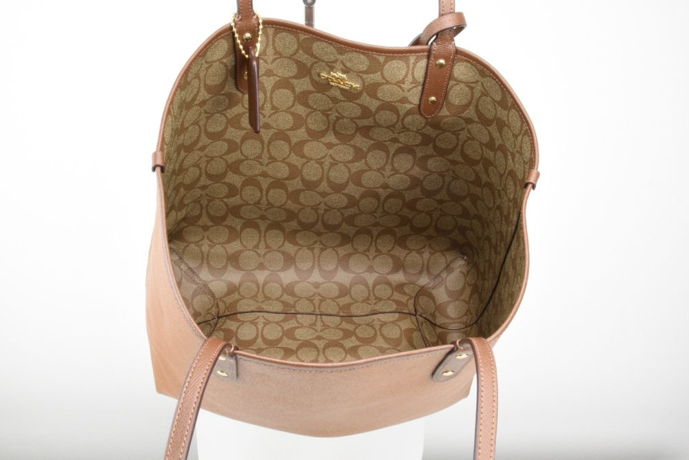 Shopper grande Reversibile cuoio Coach