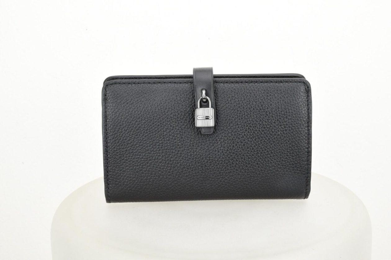 outlet vestibilità classica qualità incredibile MICHAEL KORS | Portafogli nero lucchetto- medio
