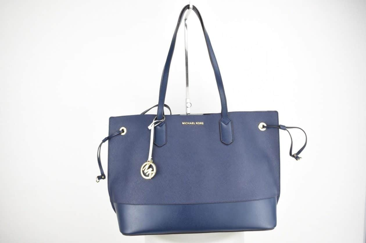 MICHAEL KORS | Shopper blu con pochette