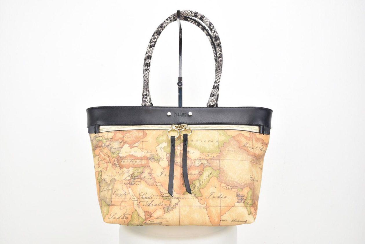 ALVIERO MARTINI | Shopper mappa geo