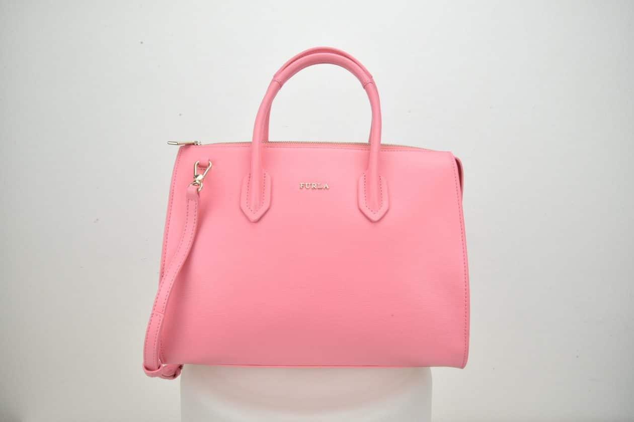 FURLA | Bauletto pelle saffiano rosa