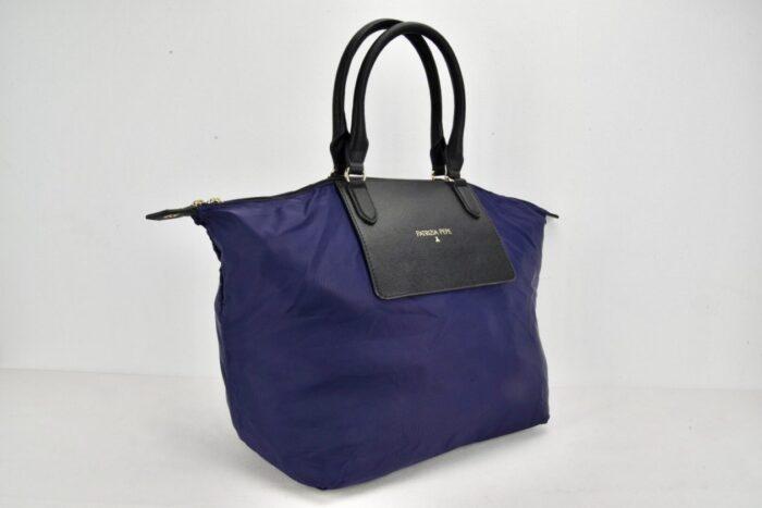 PATRIZIA PEPE | Shopper pieghevole blu Bauletti