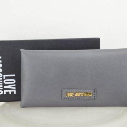 LOVE MOSCHINO Portadocumenti con portatessere grigio Accessori