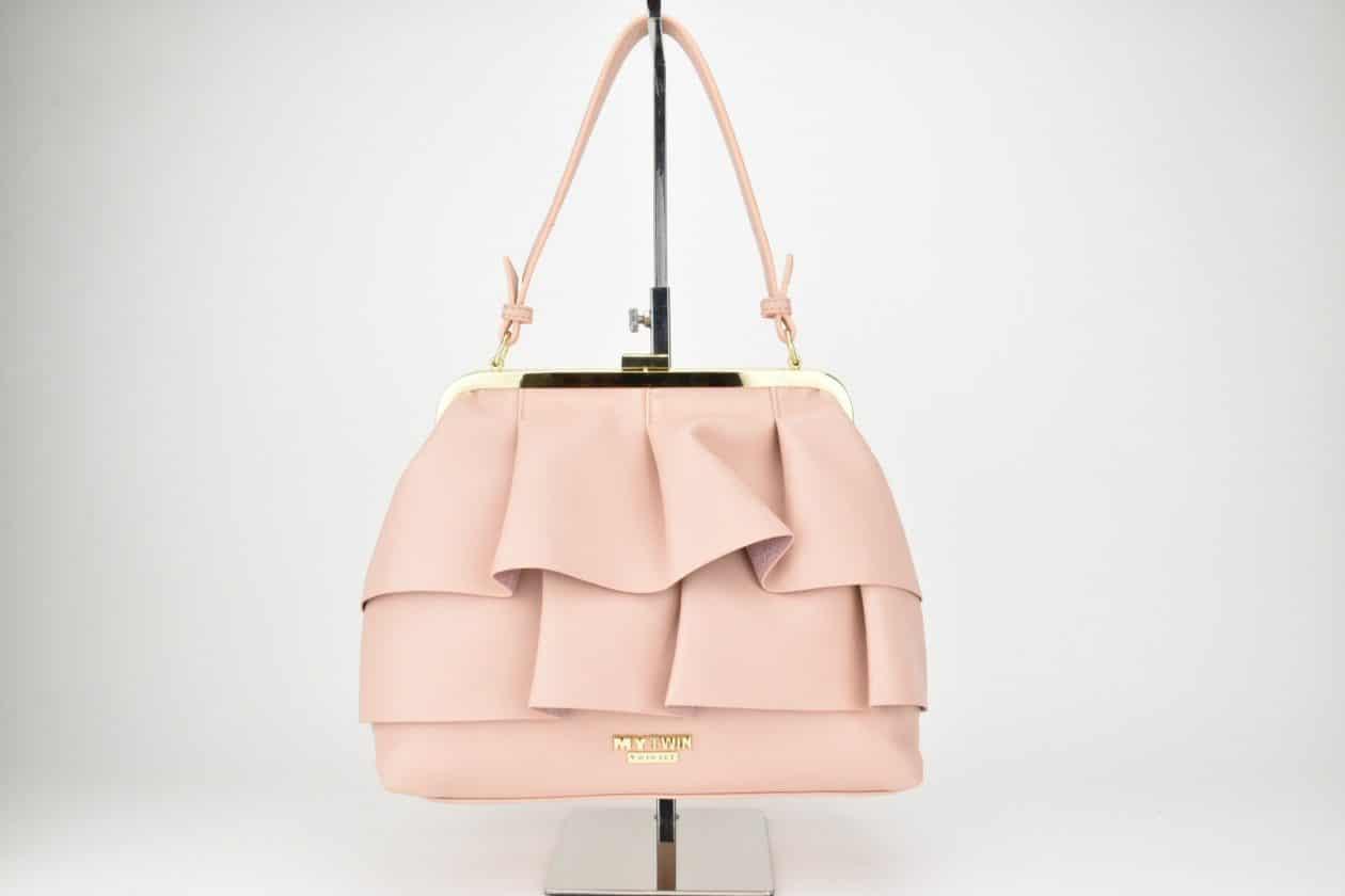 TWINSET | Borsa con rouches rosa