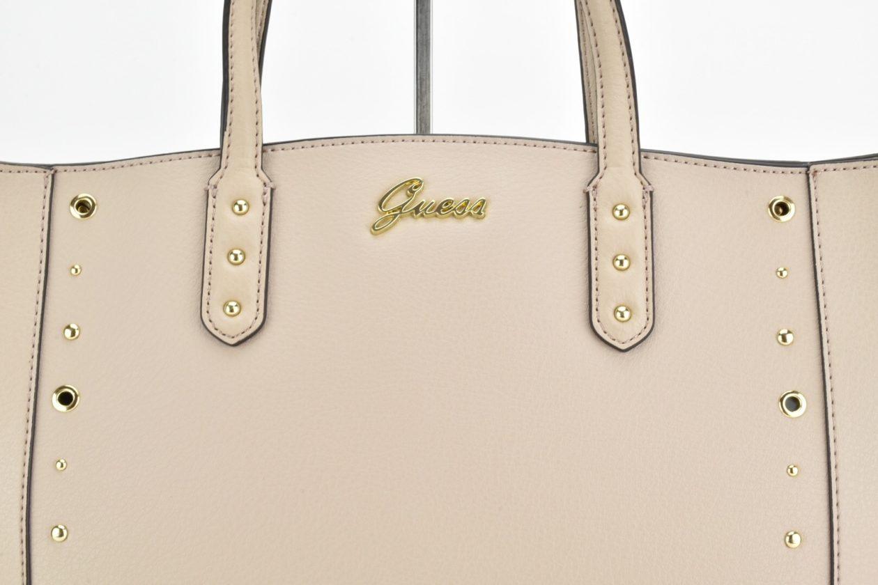 GUESS Shopper verticale beige