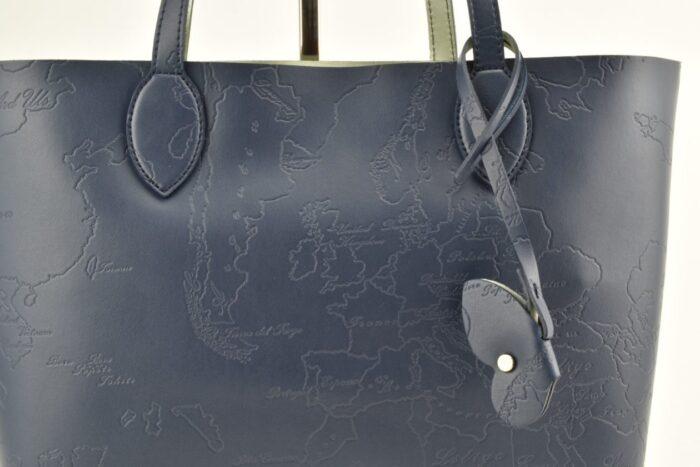 Shopper mappa blu Alviero Martini Borse