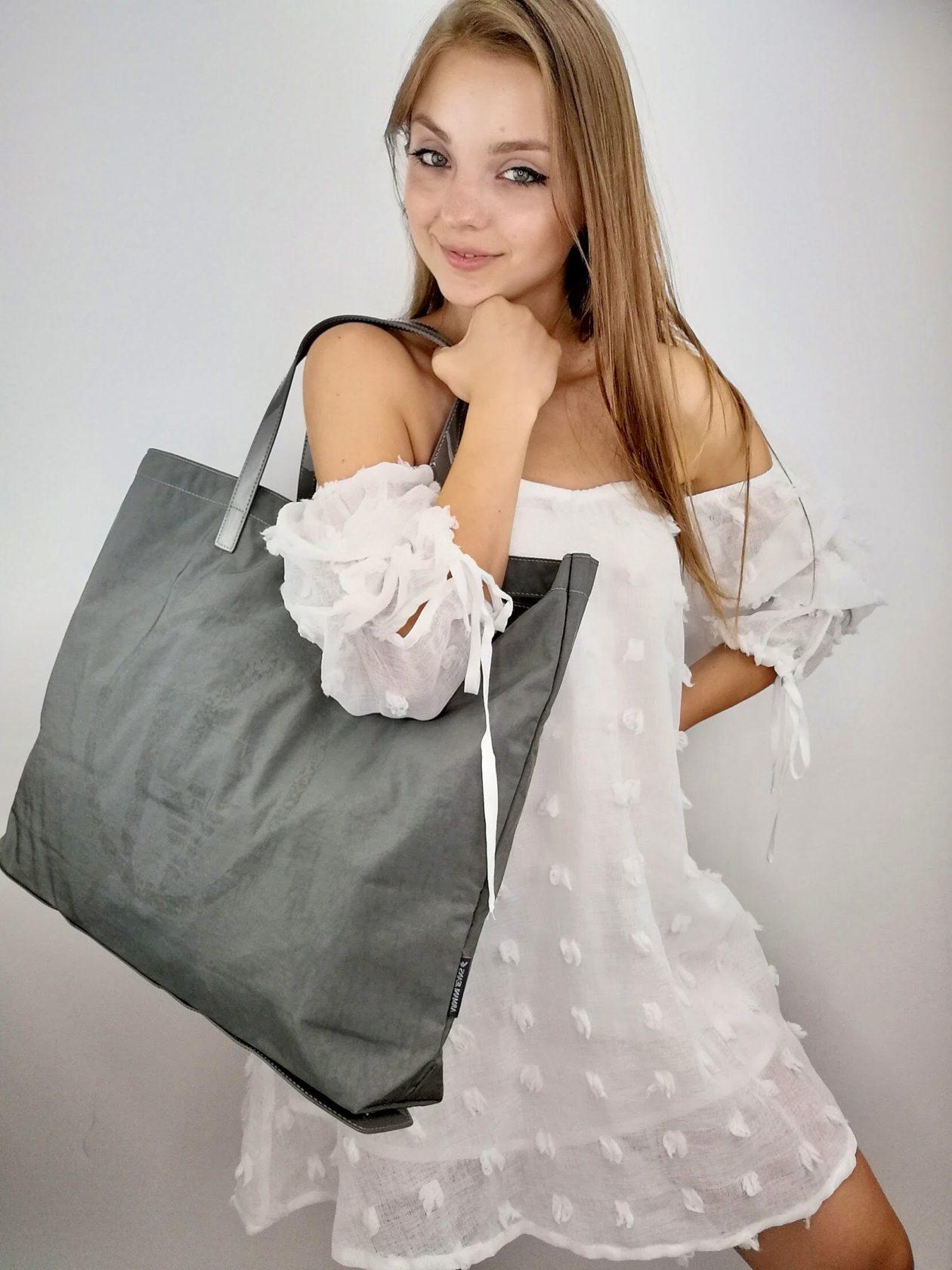 Shopper pieghevole Armani Jeans