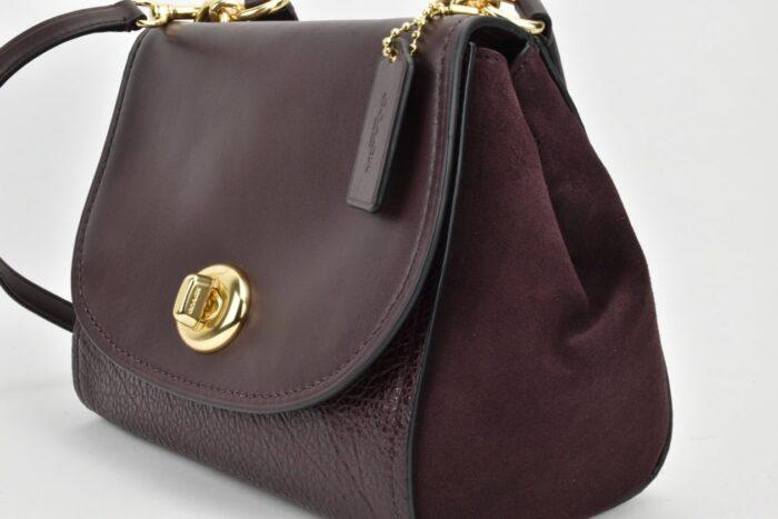 COACH Faye Bag bordeaux Borse
