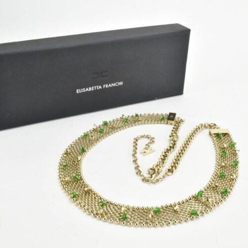 ELISABETTA FRANCHI Cintura / collana con perline Accessori