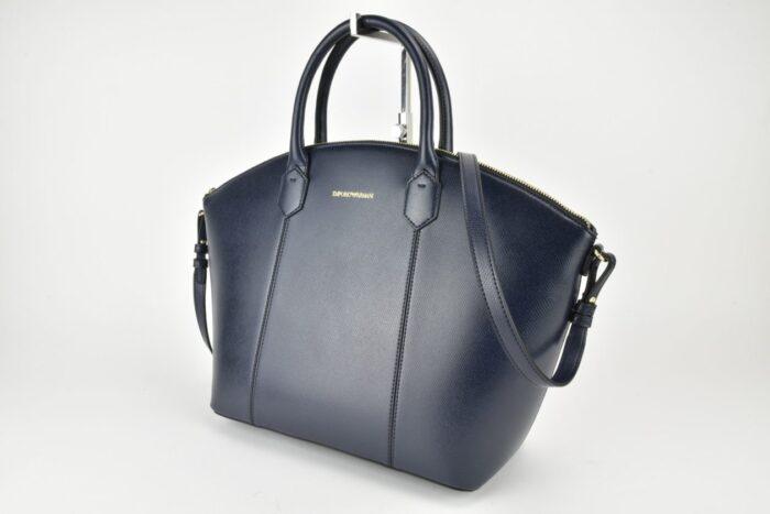 Shopper blu Emporio Armani Borse