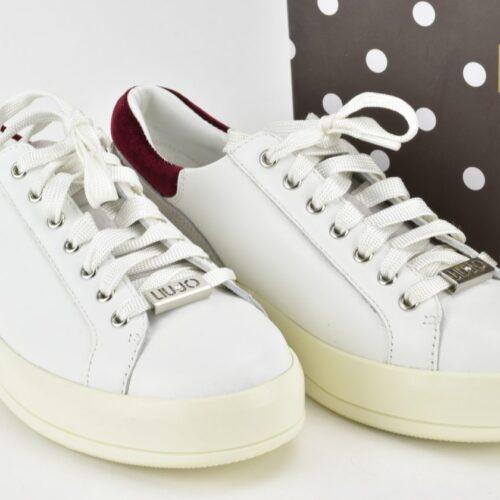 LIU JO Scarpe sneakers gioiello bianche Donna