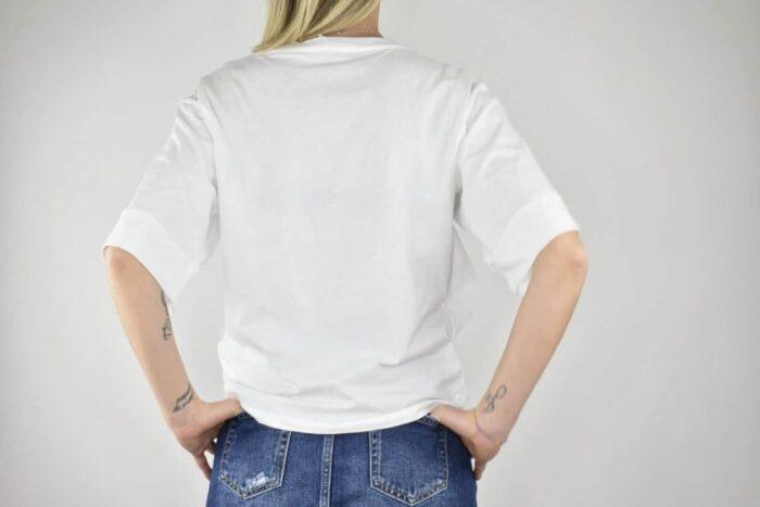 T-SHIRT bianca tulle Abbigliamento