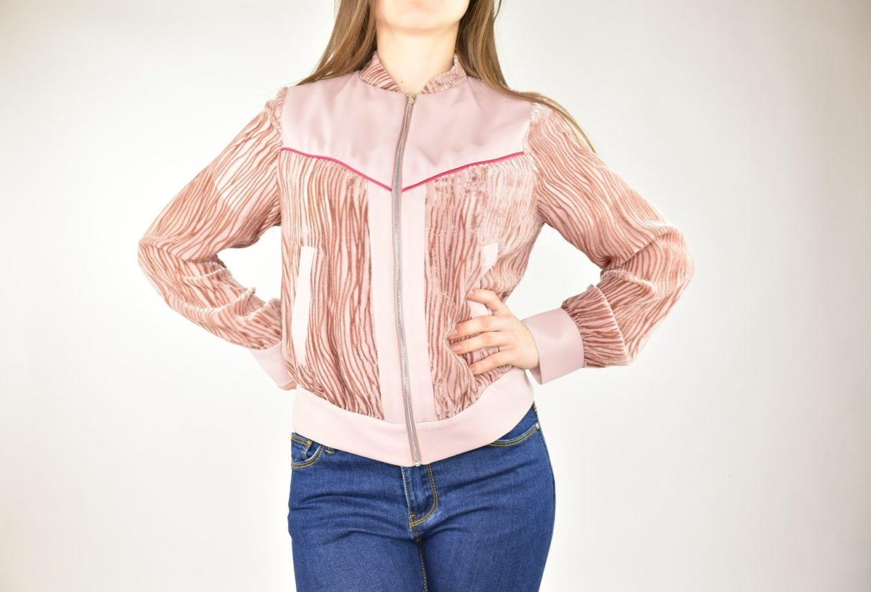 PATRIZIA PEPE giacchina rosa