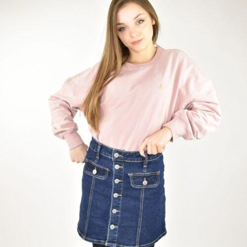 PATRIZIA PEPE felpa rosa Abbigliamento