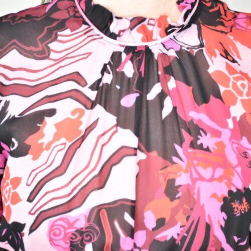 BYBLOS vestito fantasia floreale Abbigliamento