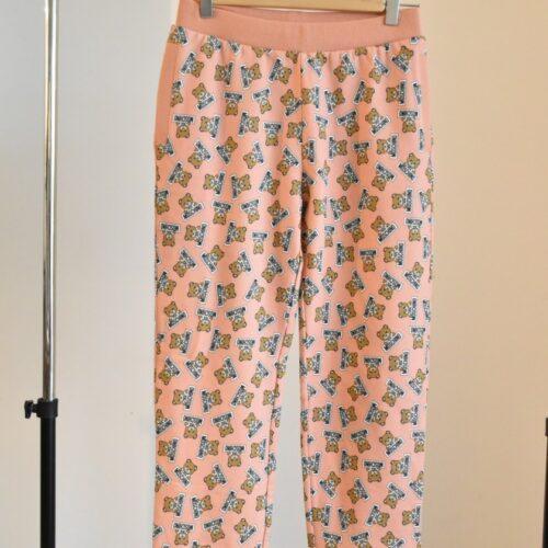 MOSCHINO Pantaloni rosa Abbigliamento