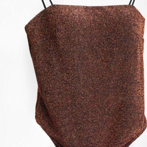 Body / Costume lurex rame Abbigliamento