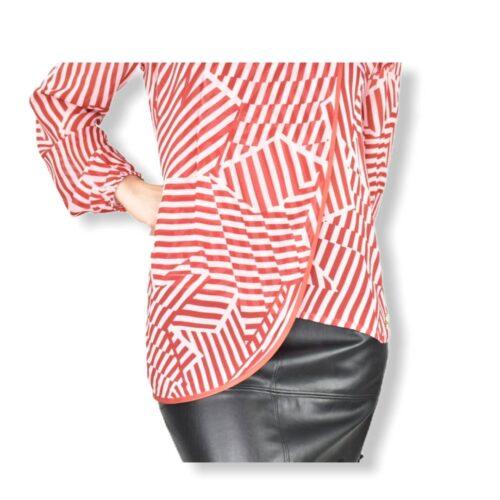 BYBLOS blusa fantasia a righe Abbigliamento