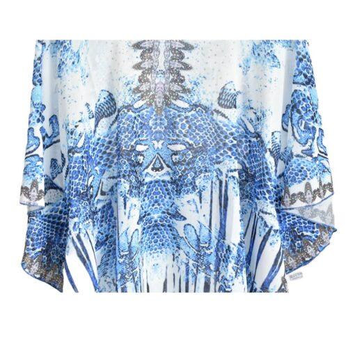 METIS GLAM Kaftano blu Abbigliamento