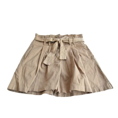METIS GLAM Pantaloncini Shorts beige cotone Abbigliamento