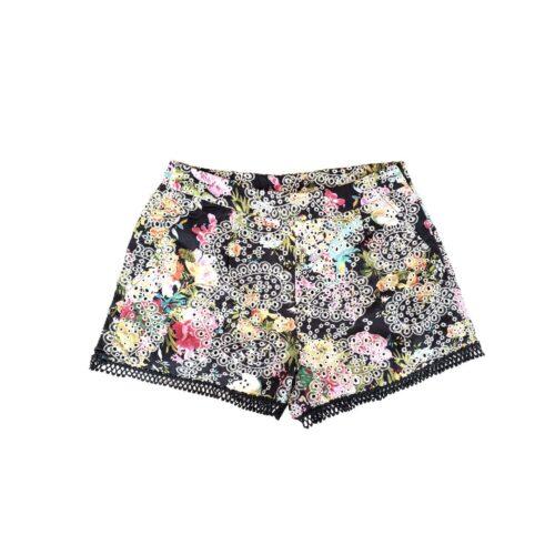 METIS GLAM Shorts ricami fiori Abbigliamento