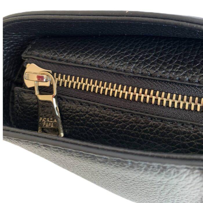 PATRIZIA PEPE Shopper nera con zip Borse