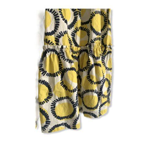 Vestitino – Gonna lunga giallo blu Abbigliamento