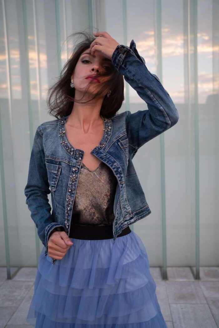 METIS GLAM Giacca di jeans Abbigliamento