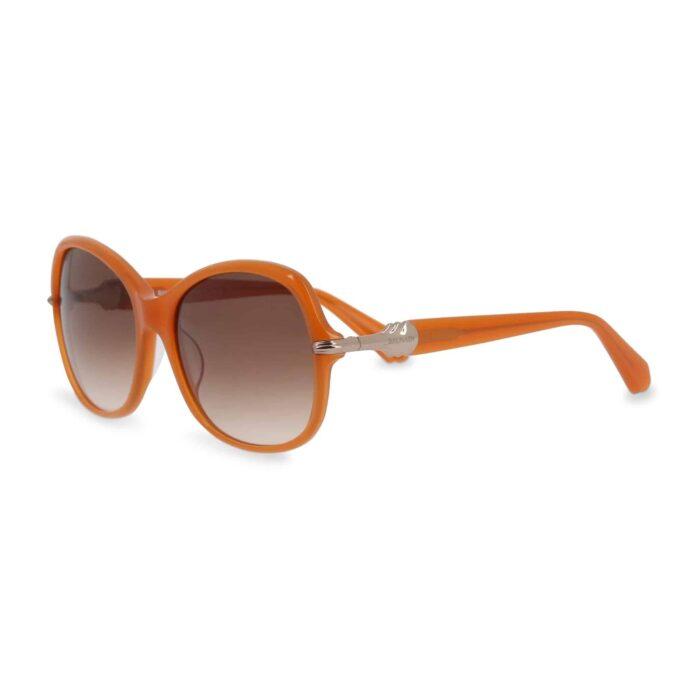 BALMAIN occhiali da sole arancioni lenti fumé UV2 No COD