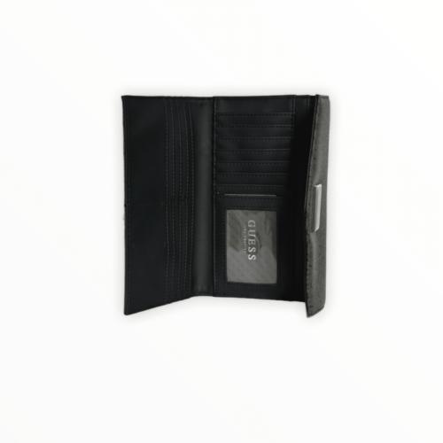 GUESS portafogli monogram marrone e nero Accessori