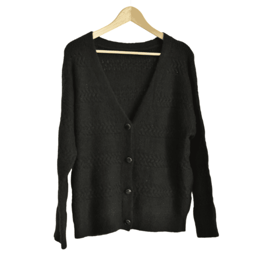 METIS GLAM Cardigan  nero Abbigliamento