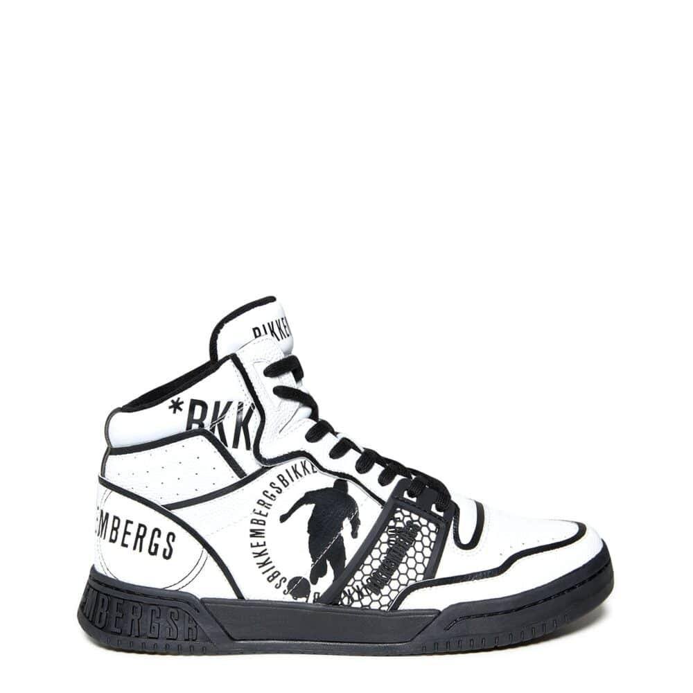 BIKKEMBERGS Sneakers alte bianche No COD