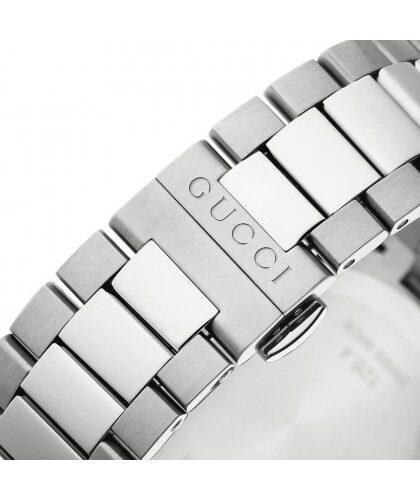 GUCCI Orologio unisex color acciaio quadrante chiaro Accessori