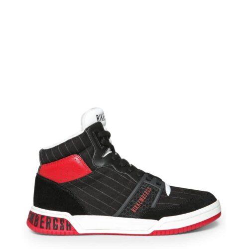 BIKKEMBERGS Sneakers nere e rosse No COD