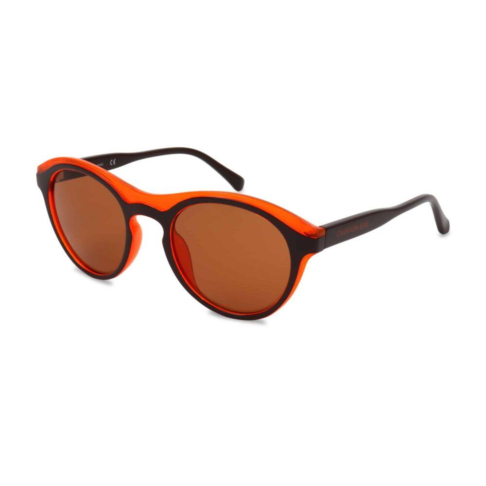 CALVIN KLEIN Occhiali da sole nero e arancio Accessori