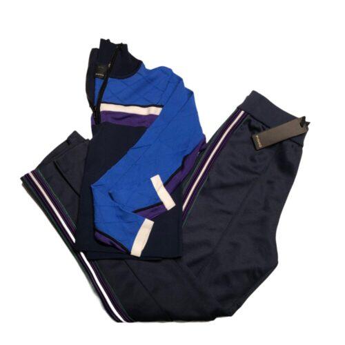 PINKO Tuta completa: maglia e pantaloni blu Abbigliamento