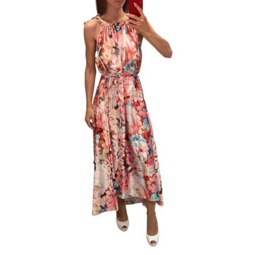 METIS GLAM Abito FLORA rosa Abbigliamento