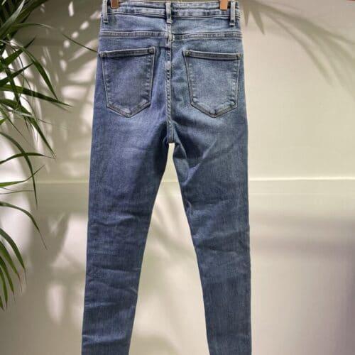 METIS GLAM jeans slim a vita alta push up Abbigliamento