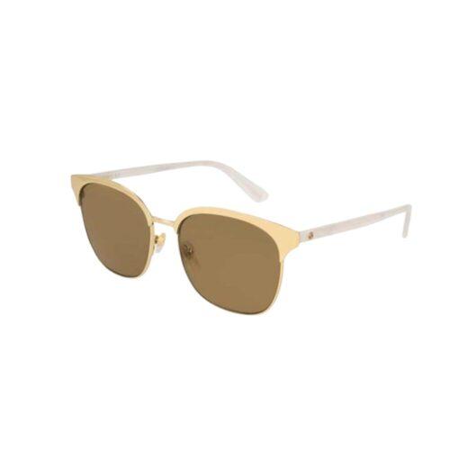 GUCCI Occhiali da sole montatura oro e aste madreperla Accessori