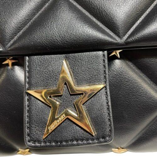 SHOP ART borsa nera trapuntata con tracolla Bauletti