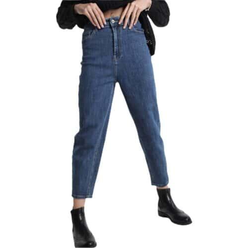METIS GLAM Pantaloni Mom fit jeans Abbigliamento
