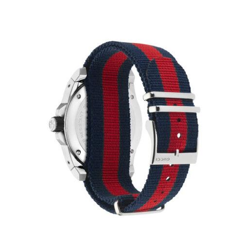 GUCCI orologio uomo Nastro web blu rosso Accessori